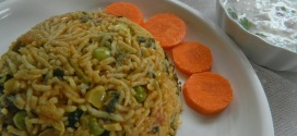Methi pulao,recipe 2