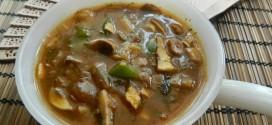 Chinese mushroom curry