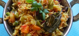 Brahmins pulav,no onion/no garlic