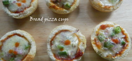 Pizza bread cups