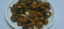 Prawn curry leaves fry