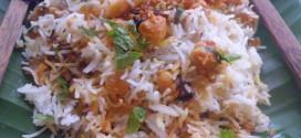 Chole  / Chana Biryani