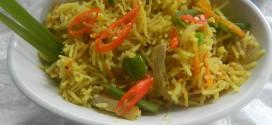 Vegetable thai fried rice
