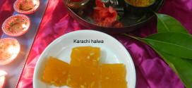 Karachi Halwa / Cornflour halwa , Diwali special
