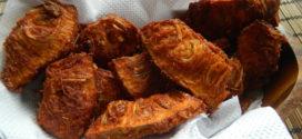 Kadgi Phodi /Raw Jackfruit fritters