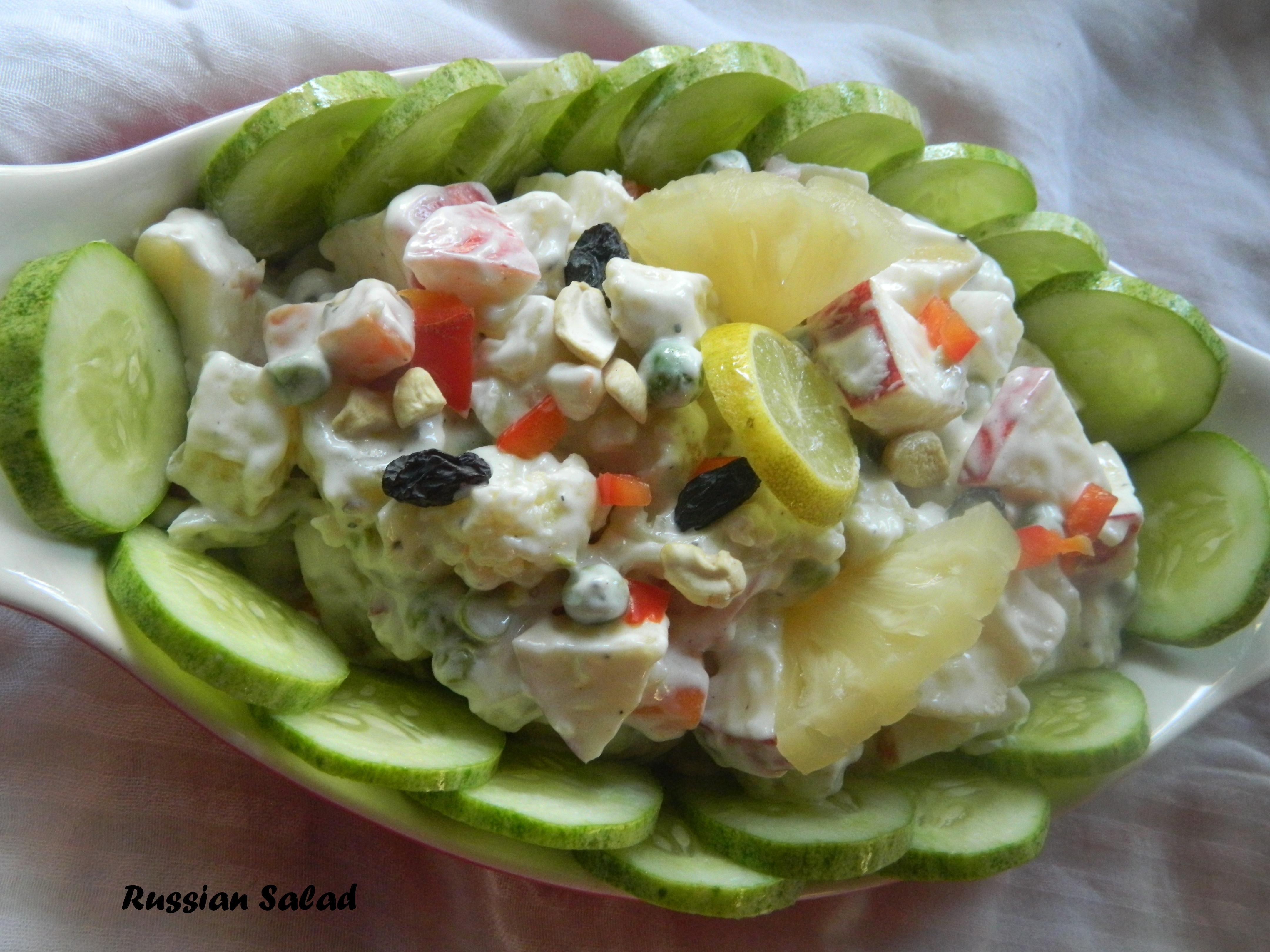 Russian Salad | Geeths Dawath