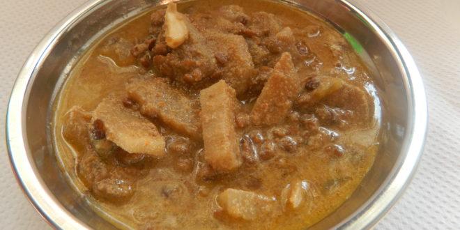 Kulitha Koddel /Horsegram gram curry