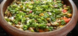 Mushroom Pot Rice