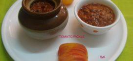 Tomato Pickle/ Tomato Nonche