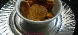 Kananga Phodi/ Sweet potato fritters