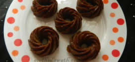 Dates and toffee mini bundt cake