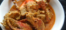 Kurle Alle Piyava Randayi / crab curry with ginger and onion