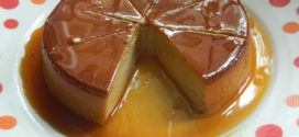 Eggless Caramel Custard / Caramel flavoured steamed yogurt