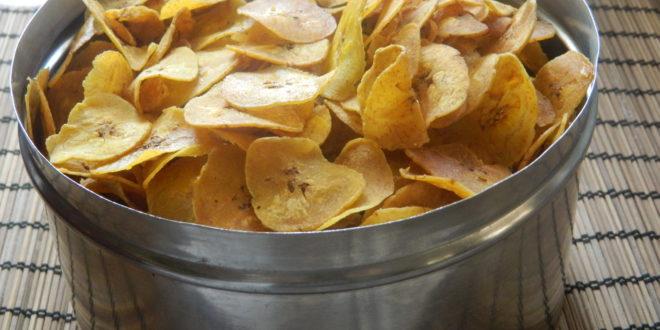 Kele kachri/ Kerala banana chips