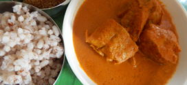 Koddai alle piyava ghashi/ Croaker fish curry