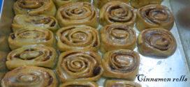 Pioneer Woman's Cinnamon Rolls,Eggless