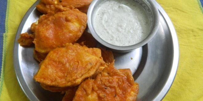 Jeev kadgi bhajo / Breadfruit fritters