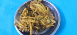 Atte Bhajo/ Tapioca fritters, Kerala special