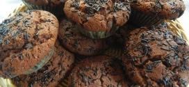Eggless Chocolate muffins