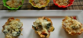 Baked pasta muffins