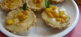Eggless fruit tarts