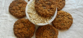 Eggless oats and chocochip cookies