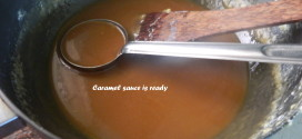 How to make caramel sauce/salted caramel sauce ?