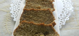 Eggless banana wheat bread