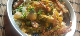 Mushroom Biryani #7