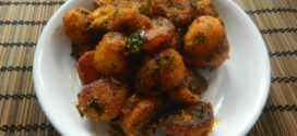 Semolina roast potato
